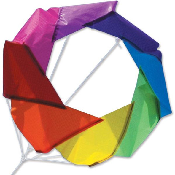 "Premier Kites - 20"" F-Stop Spinner for Kites and Line - Rainbow"