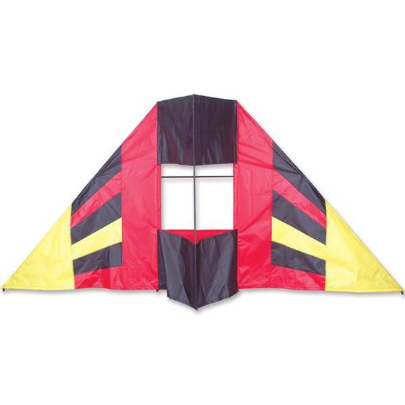 Premier Kites - 7.5 ft. Box Delta Kite - Red Flair