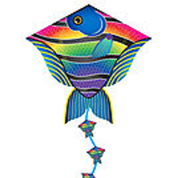 "Xkites - DLX Diamond ""Reel fish"""
