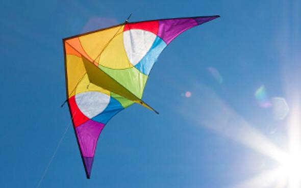 HQ Kites - Delta Rainbow 3m
