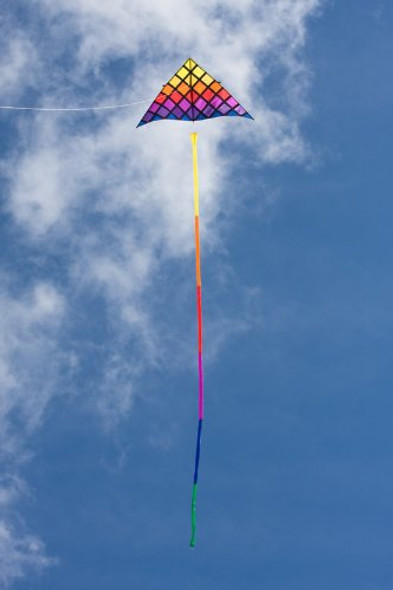 HQ Kites - Rainbow Tube tail 16'