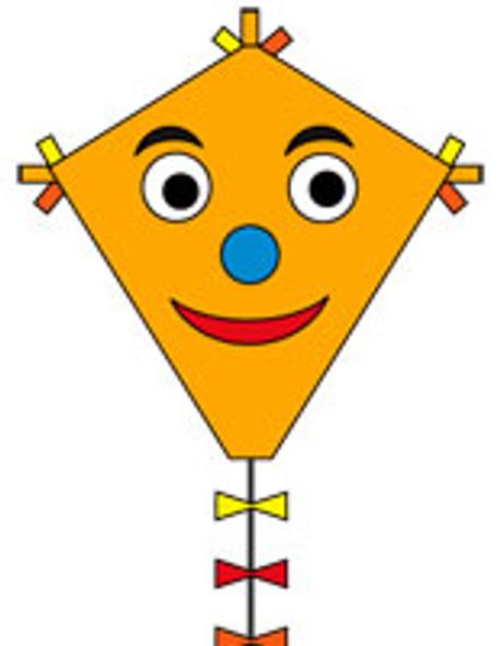 "HQ Kites - Eco line ""Eddy Happyface""  50cm"