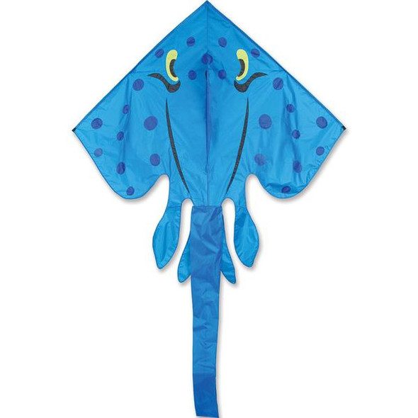 Premier Kites - Blue Jumbo Ray kite