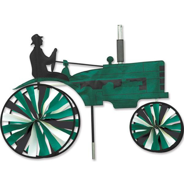 Premier Kites - 29 in. Old Tractor Spinner - Green
