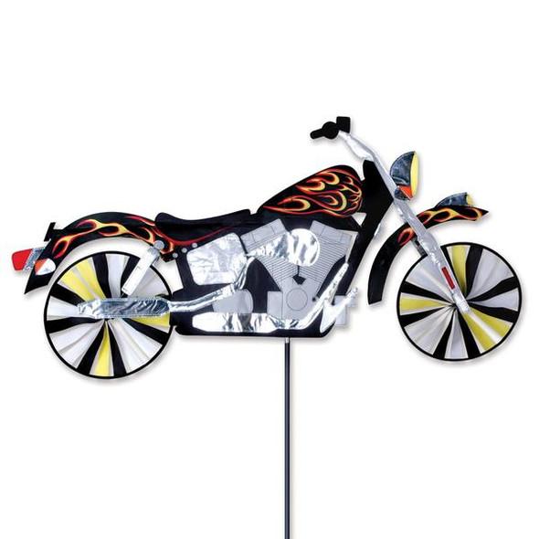 Premier Kites - 47 in. Motorcycle Spinner - Flame