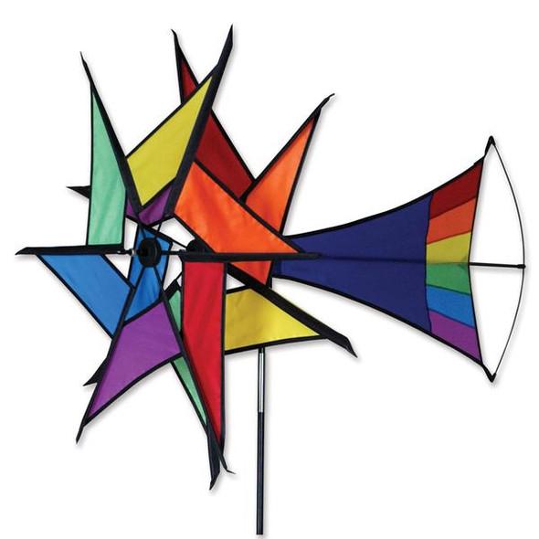 Premier kites - Large Rainbow Windstar spinner