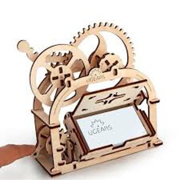 UGEARS - Mechanical Box