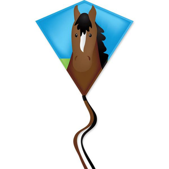 Premier Kites - 30 In. Diamond Kite - Pony (Bold Innovations)