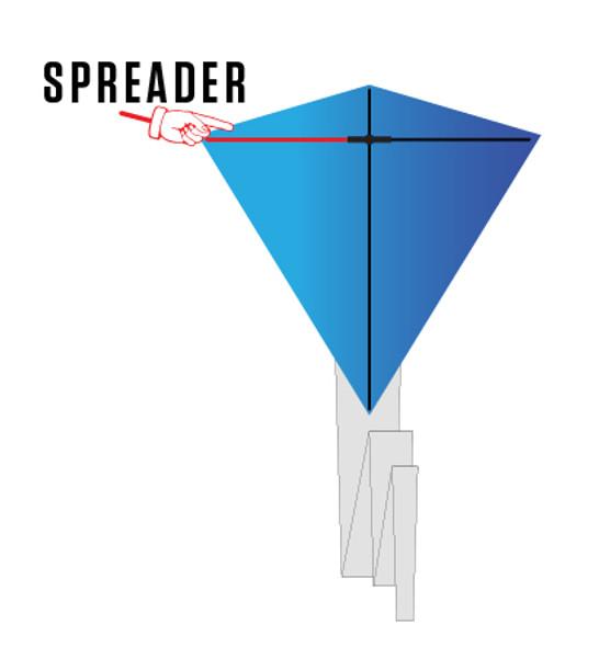 Prism Designs - Stowaway Diamond parts - spreader