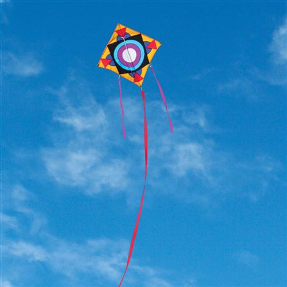 "ITTW -  George Peters Square Flyer Kite "" Prairie"""