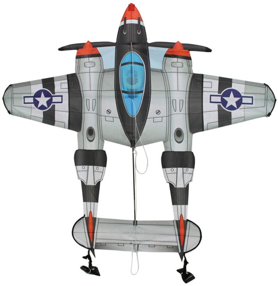 WindnSun- Supersize Ultra P-38 Lightning Kite