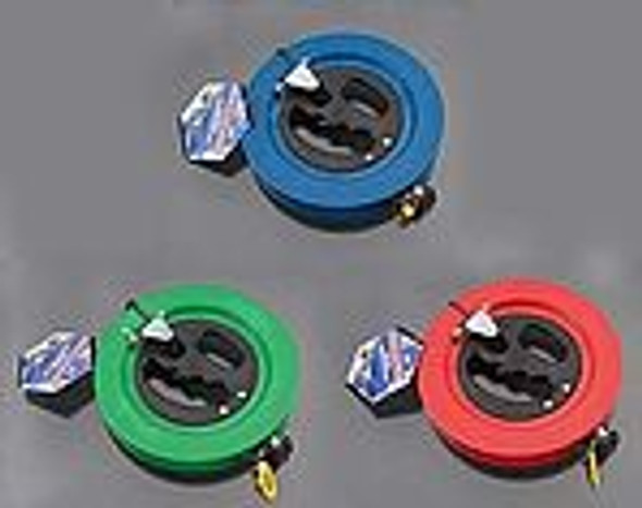 "WNS - ReelFast Kite Winder ""Blue"" / 25# x 500' Nylon line"
