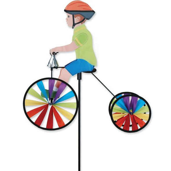 Premier Kites - 19 in. Tricycle Spinner - Boy