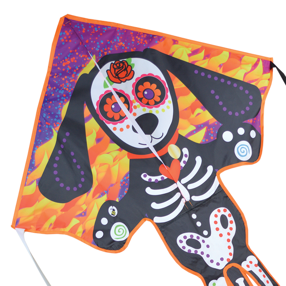 Premier Kites - Large Easy Flyer Kite - Day of the Dead Dog