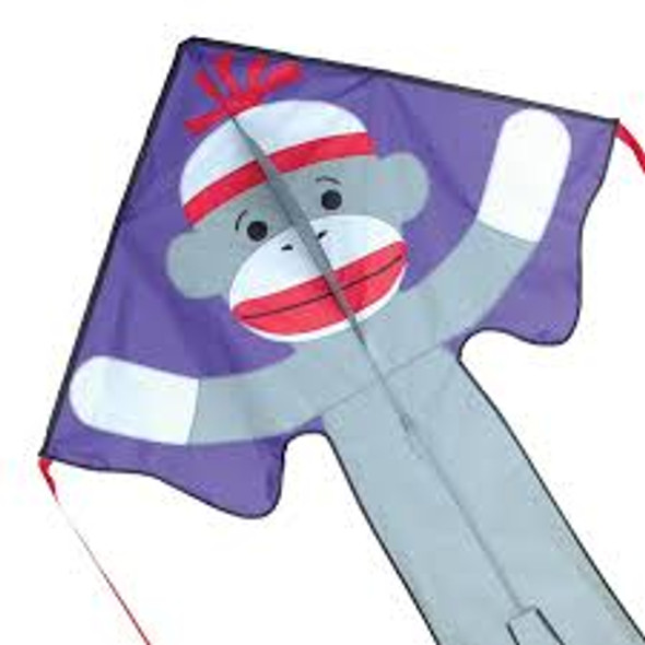 Premier Kites - Large Easy Flyer Kite - Sock Monkey Boy