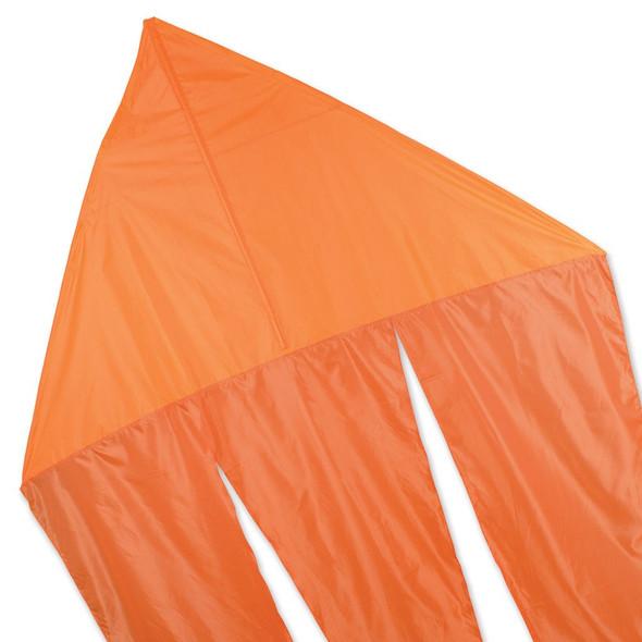Premier KItes - 6.5 ft. Flo-Tail Delta Kite - Orange