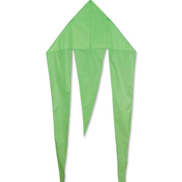 Premier KItes - 45 in. Flo-Tail Delta Kite - Green