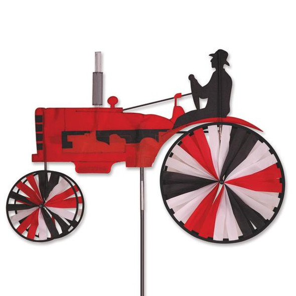 Premier Kites - 38 in. Tractor Spinner - Red