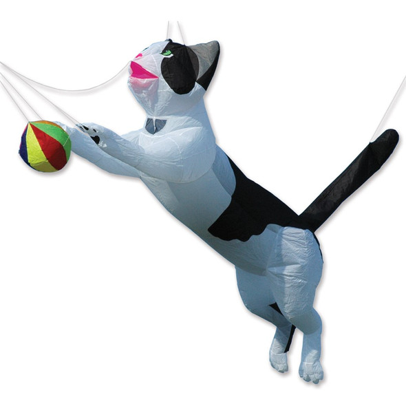 Premier Kites -Ram Air Cat Line Device for Kites - Black & White
