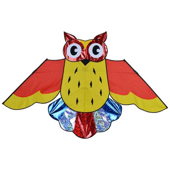 Premier Kites - Owl Kite - 57 in. Holographic Rainbow