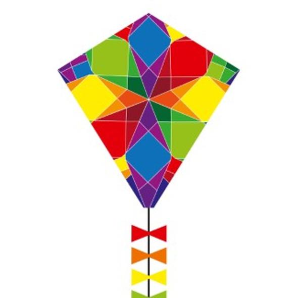 """HQ Kites - Eco line - Eddy Galaxy 50cm 20"""""""