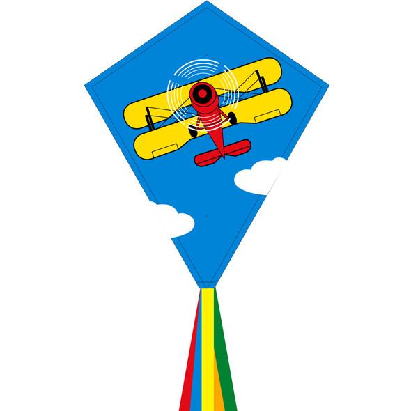 """HQ Kites - Eco line - ECO: EDDY BIPLANE 70CM 28"""""""