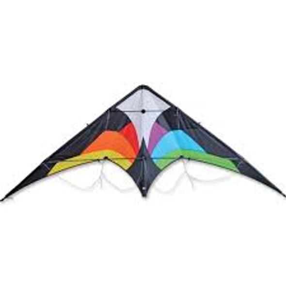 Premier Kites - Wolf NG Sport Kite - Black Rainbow