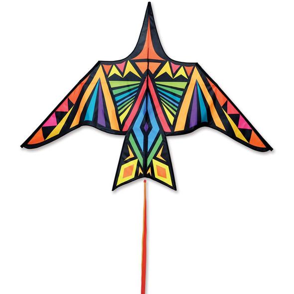 Premier Kites - Thunderbird Kite - 90 in. Rainbow Geometric