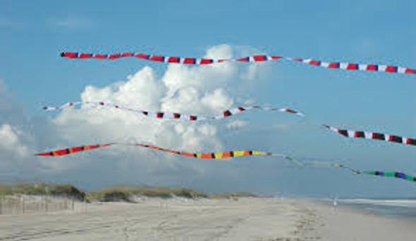 Premier Kites - 3 in. x 25 ft. Transition Tail - Rainbow