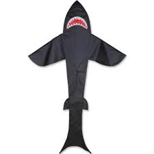 Premier Kites - 11 ft. Shark Kite - Black