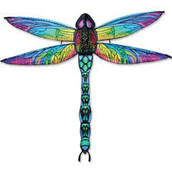 Premier kites - 3-D Dragonfly Rainbow Kite (Bold Innovations)