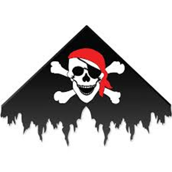 Premier kites - Pirate Delta Kite - Black (Bold Innovations)