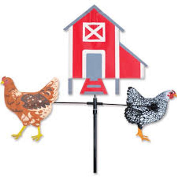 Premier kites -Single Carousel Spinner - Chickens & Hen House