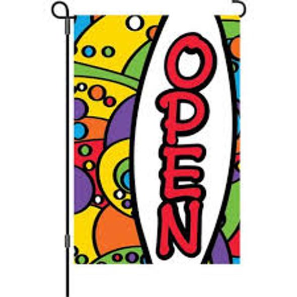 Premier kites - 12 in. Flag - Rainbow Orbit Open