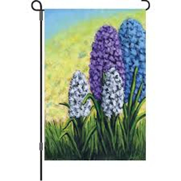 Premier kite - 12 in. Flag - Hyacinths