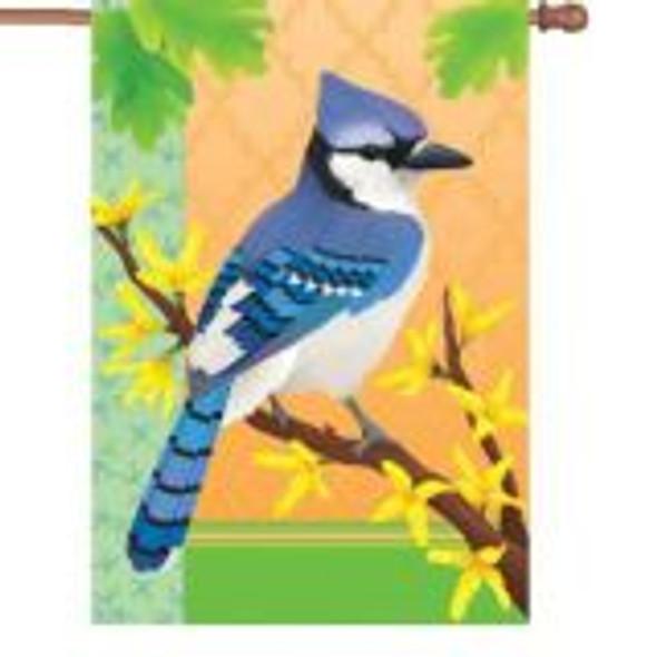 Premier kites - 28 in. Flag - Blue Jay InSpring