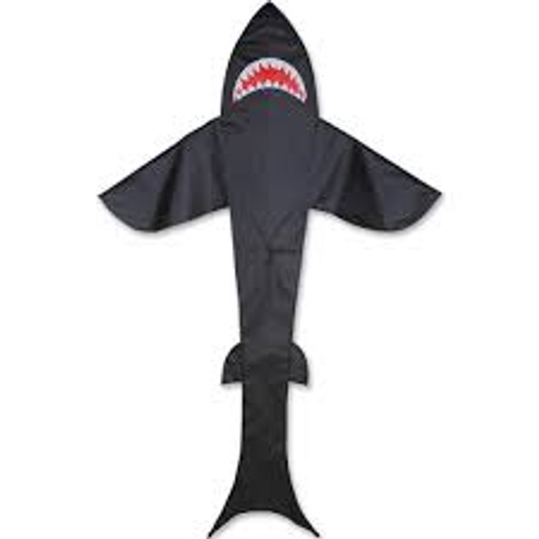 Premier kites - 7 ft. Shark Kite - Black