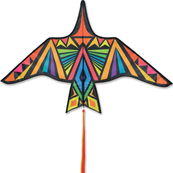 Premier Kites - Thunderbird Kite - 60 in. Rainbow Geometric