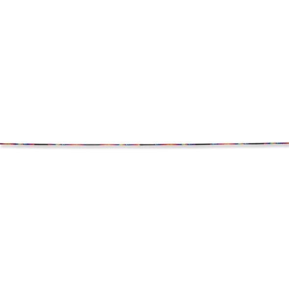 Premier kites - 100 ft. Flag Line - Black & White