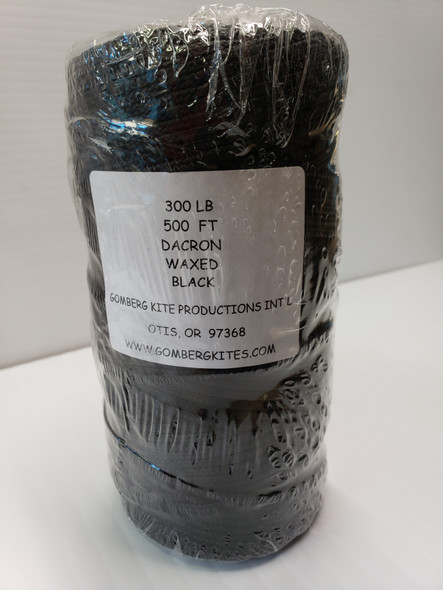 GK-Braided Dacron Line Black 300# x 500' bulk