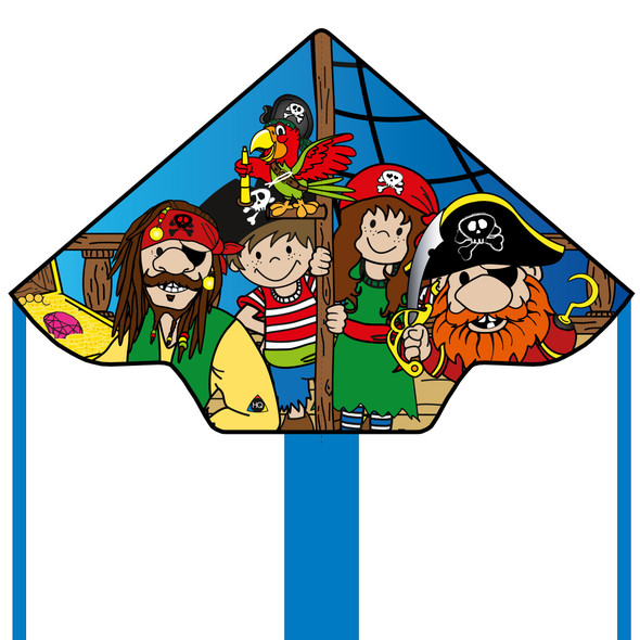 "HQ Kites - PIRATE SIMPLE FLYER ""PIRATE CREW"""