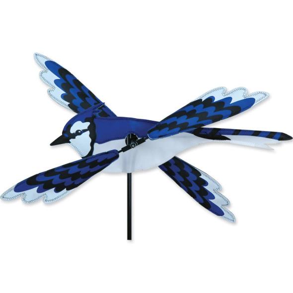 Premier Kites - 18 in. WhirliGig Spinner - Blue Jay
