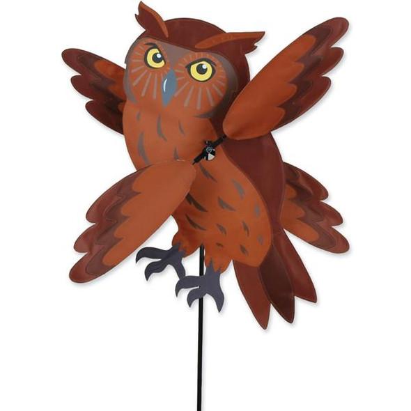 Premier Kites - 23 in. WhirliGig Spinner - Brown Owl