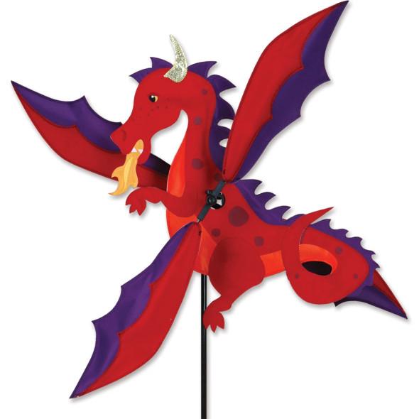Premier Kites - 19 in. WhirliGig Spinner - Red Dragon