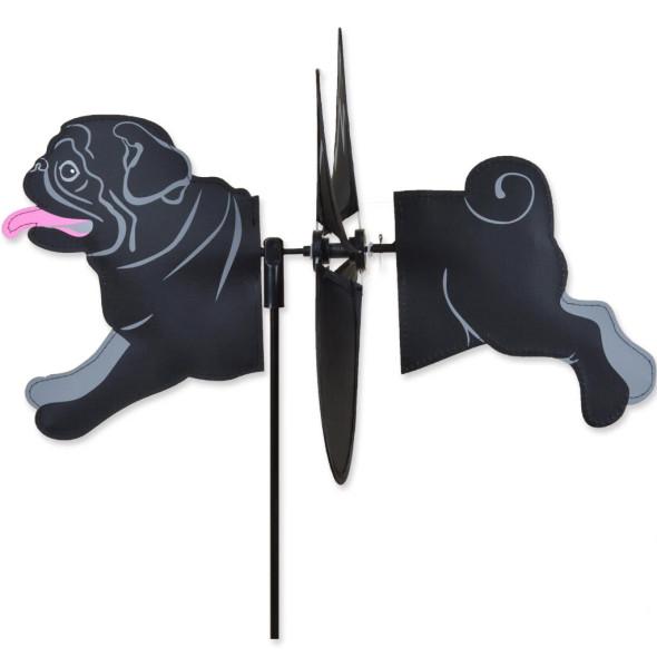 Premier Kites - Petite Spinner - Black Pug