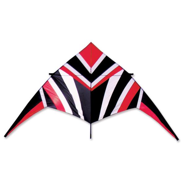 Premier Kites - 14 ft. Delta Kite - Red/White/Black