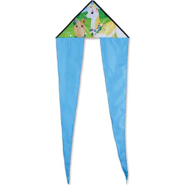 Premier Kites - Zippy Flo-Tail Delta Kite - Alpacas