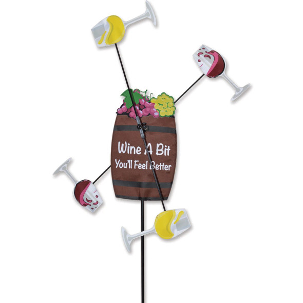 Premier Kites - WhirliGig Spinner - Wine a Bit More