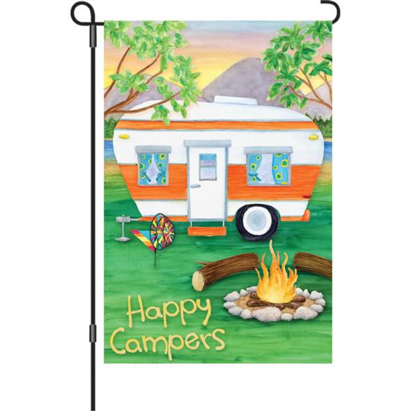 Premier kites - 12 in. Flag - Happy Campers