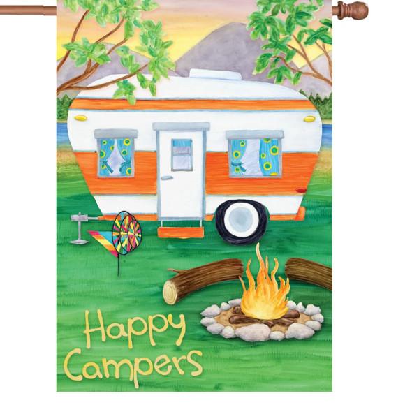 Premier kites - 28 in. Flag - Happy Campers